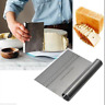 Stainless Steel Pizza Dough Cutter Scraper With Scale Dough Pastry Baking Tool