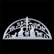 Jesus Prayer Religion Metal Cutting Dies Stencils for Scrapbooking Card Decor TS