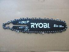 "Ryobi Model P4361 18 Volt Pole Saw Replacement 8"" BAR & CHAIN COMBO"