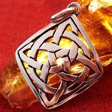 Anhänger ECHT SILBER Amulett Kelten Wikinger Larp WOW S