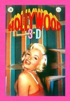HOLLWOOD 3-D, 1987, 3-D ZONE, #7,  RAY ZONE, JANYE MANSFIELD UNDERGROUND COMIC