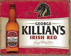 George Killian's Irish Red Beer Nostalgic Tin Metal Beer Bar Sign Made In USA