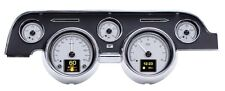 Dakota Digital 67 68 Ford Mustang Customizable Gauges Kit Silver HDX-67F-MUS-S