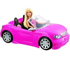 Barbie Convertible Pink Car and Doll Pack