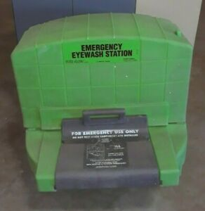 Fend All Pure Flow 1000 Emergency Eye Wash Station Wall Mount Safety Equipment