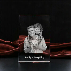 **Special Gift for him, gift for her Photo Crystal Gift - Large 15cmx10cm **