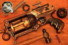 STEAMPUNK Firearm Vintage Antique Revolver Gun Cosplay Comic Con