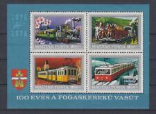 D.Railway - Locomotives Hungary Block 107 (MNH)