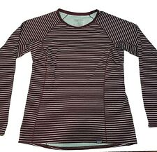 Patagonia Women's Midweight Capilene Base Layer Striped Size Small