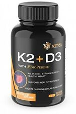 Vitamin K2 MK7 100mcg With Vitamin D3 5000 IU 3-Months Supply Of D