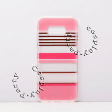 Kate Spade Flexible HardShell Samsung Galaxy S8+ Plus Case Clear Pink Rose Gold
