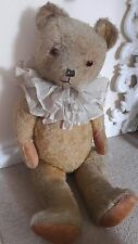 antique large jointed collectors mohair teddy bear