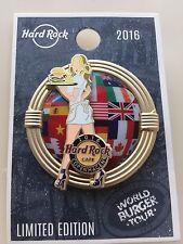 2016 HARD ROCK CAFE HRC COPENHAGEN WORLD BURGER TOUR/SERVER SERIES PIN