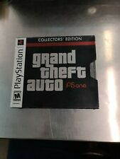 Grand Theft Auto Collectors' Edition (Sony PlayStation 1, 2002) *Free Shipping*