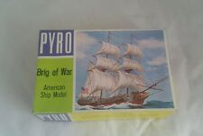 Pyro Brig of War Ship  Model Kit # 368-75  Released 1967