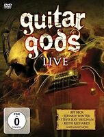 GUITAR GODS   DVD NEU JOHNNY WINTER/KEITH RICHARDS/JACK BRUCE/+