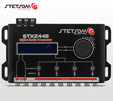 Stetsom STX2448 DSP Crossover & Equalizer 4 Way Audio Car Audio Sound Processor