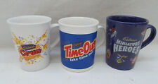 Cadbury's Mug x 3 - Miniature Heroes Crunchie Time Out