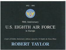 Robert Taylor - 50th 8th Airforce in Europe - Art FLYER