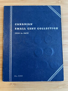 Canadian Small Cents 1920-1972 Collection No. 9062. Lot of fifty-seven(57) coins