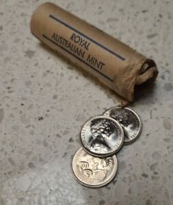 1982 5 Cent Australian Decimal Coin - Uncirculated From Mint Roll.