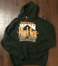 1994 Haynes Baltimore Blacksox '29 Mens SZ L Hoodie Negro League Baseball EC USA