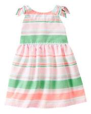NWT Gymboree ISLAND CRUISE Sz 5T Striped Bow Dress