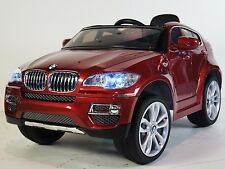 BMW X6 Style Ride on Toy Car with Remote Control for Kids Battery Operated 12V