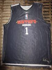 Golden State Warriors #1 NBA Game Basketball adidas team Practice Jersey 2XLT 2X