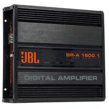 JBL BR-A 1600.1 Channel 1600 Watts RMS  2 Ohm Car Amplifier