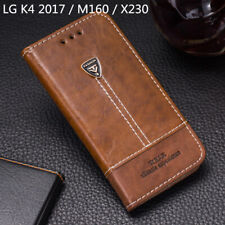 For LG K4 2017 M160 X230 Phone Case Flip PU Leather Cover Book Stand Wallet CARD