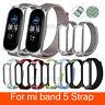 Für Xiaomi Mi Band 5 / Band 5 NFC Nylon Loop Ersatz Armband Uhrenarmband Strap
