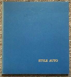 Style Auto: Architettura Della Carrozzeria - Quarterly, No. 4, Autumn/1964