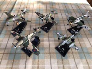 Amer Com Fighter Aircraft - 5 Models