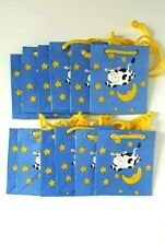 Gift Bags Mini Gift Bags Cow Party Favor Farm Lot of 12 Bags Papel Love a By