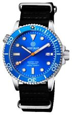 Deep Blue Master 1000 Foot Diver Automatic Dive Watch- Nylon Strap