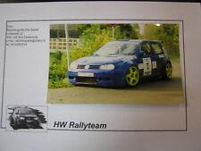 Photo VW Golf Mk4 Kit car #12 Weijs / Raven Vierhouten Pallets Rally Barneveld
