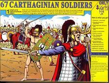 HaT Miniatures 1/72 CARTHAGINIAN SOLDIERS 67-pc Figure Set