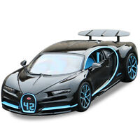 Bburago 1:18 Bugatti Chiron Diecast Metal Model Car Vehicle Toy Black