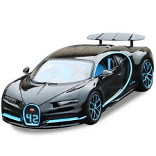 Bburago 1:18 Bugatti Chiron Diecast Metal Model Roadster Car Vehicle Black