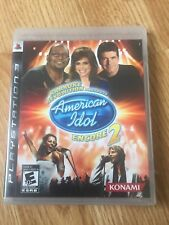 Karaoke Revolution American Idol Encore 2 PS3 PlayStation 3 Cib Game XP2