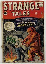 1962 Atlas Comics Strange Tales #99 GD