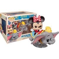 Minnie on Flying Dumbo Disneyland 65th Funko Pop Vinyl New in Box