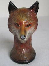 Vintage Fox Bottle Opener by Scott Products Newark N.J. Painted Metal