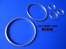 Pour Toyota Supra MKIV FL 5x Chrome Cadran Trim Rings Set Brossé Satin Alliage 96-02