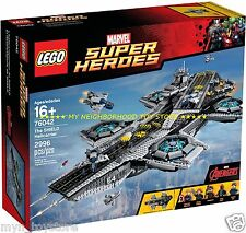 RETIRED - LEGO 76042 UCS MARVEL SUPER HEROES™ HELICARRIER SHIELD (motorizzabile)