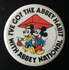 Disney 1980s Collectable Badges/Pins