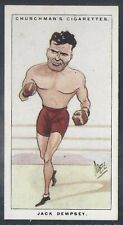 CHURCHMAN-MEN OF THE MOMENT IN SPORT-#13- BOXING - JACK DEMPSEY