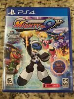 Mighty No. 9 (Sony PlayStation 4, 2016) PS4 Complete WITH POSTER FREE SHIPPING