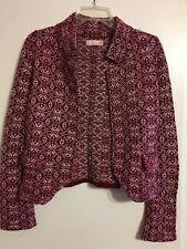 Odd Molly Unincorporated Collared Cardigan Sweater Wool Size Small